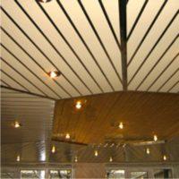Реечный потолок итальянский дизайн