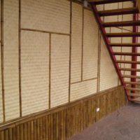 Стеновые бамбуковые плиты