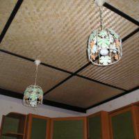 Потолочные бамбуковые плиты